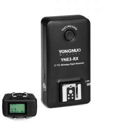 Yongnuo E-TTL YNE3-RX Wireless Remote Flash Receiver For YN-E3-RT YN600EX-RT ST-E3-RT 600EX-RT