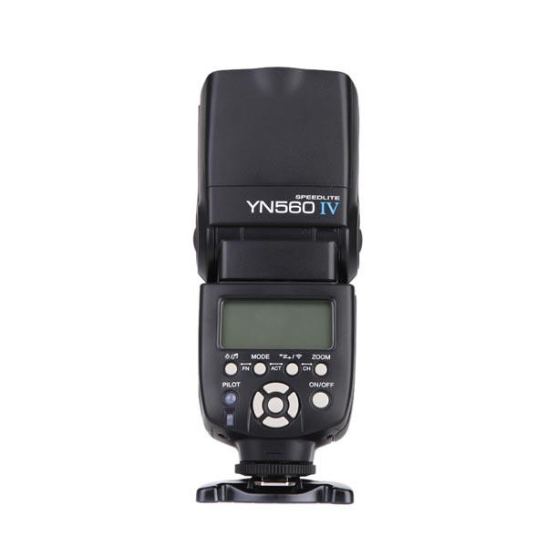 Yongnuo YN560 IV 2.4G 5600K Trådlös Blixt Speedlite för Canon Nikon Pentax Olympus DSLR Kamera Foto & Video