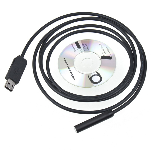 10mm Lins 2M 5M 7M 10M 15M 20M USB Slanginspektionskamera Säkerhetssystem & Övervakning