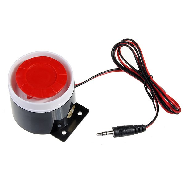 120dB Wired Siren Horn Speaker for GSM Security System Alarm Security System & Protection