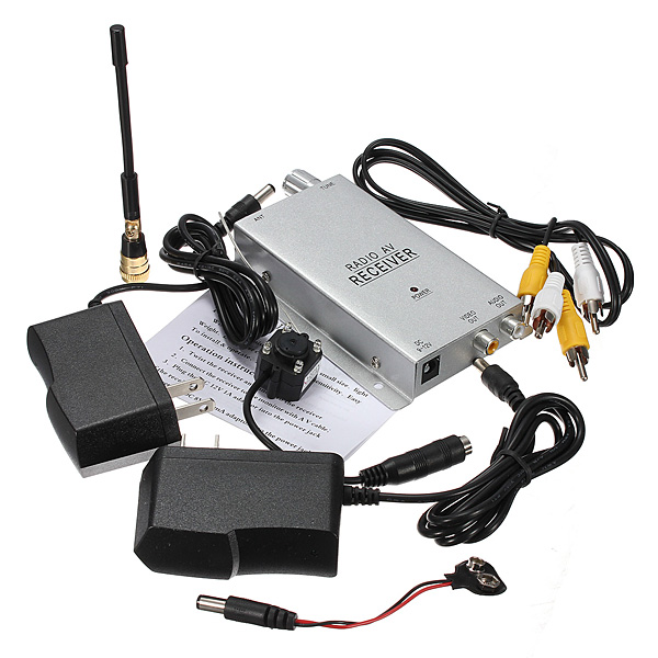 1.2G Mini Wireless Hidden Pinhole Camera Surveillance System PAL Security System & Protection