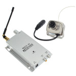 1.2G Wireless Camera Kit Radio AV Receiver With Power Supply Security System & Protection