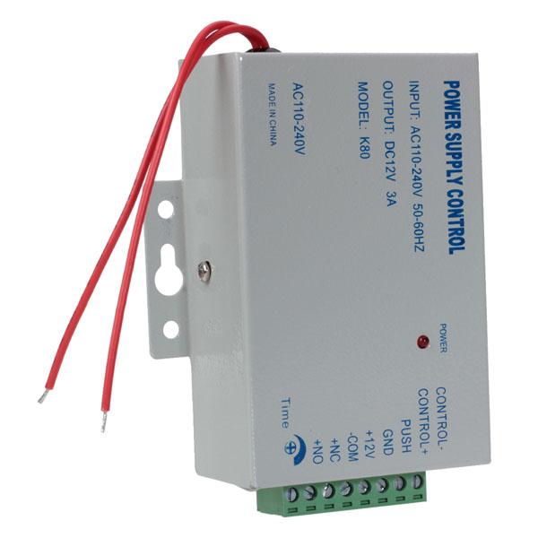 12V 3A Oavbruten Strömtillförsel för Dörr Access Kontroller Säkerhetssystem & Övervakning
