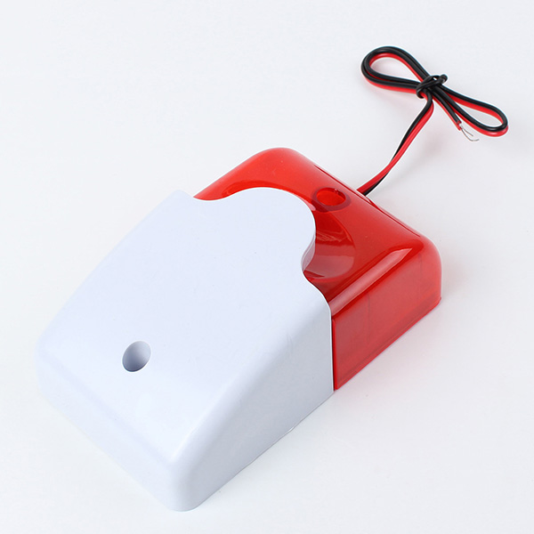 12 Volt Säkerhet Systems Alarm Blixtljus Siren Säkerhetssystem & Övervakning