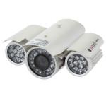1/4 CMOS 139+8510 IR-CUT 800TVL Waterproof Security Camera L1280DH
