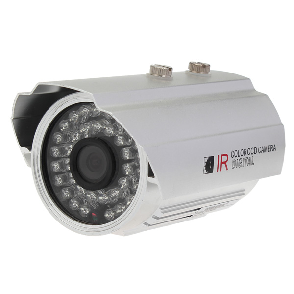 1/4 CMOS 139+8510 IR-CUT 800TVL Waterproof Security Camera L1886DH Security System & Protection
