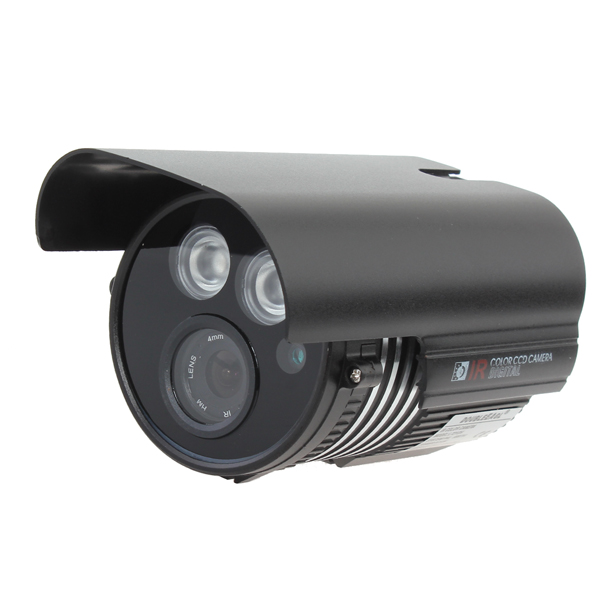 1/4 CMOS 139+8510 IR-CUT 800TVL Waterproof Security Camera L721DH Security System & Protection