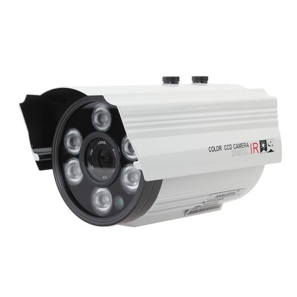 1/4 CMOS 139+8510 IR-CUT 800TVL Waterproof Security Camera L726DH