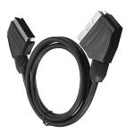 1.5m 21 Pin Scart Anschluss Kabel Draht Stecker auf Stecker für Video Sicherheitssystem & Überwachung