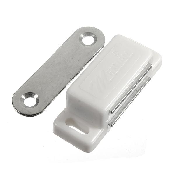 1.8 Tum Lång Skåpdörren Plast Magnetlås Säkerhetssystem & Övervakning