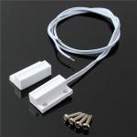 1 Set Infälld Dörr Kontakter Magnetisk Reed Alarm Switch Skruvar Säkerhetssystem & Övervakning