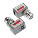 202C + 1 Kanal passive Video Transceiver Sende  Farbvideosignal Sicherheitssystem & Überwachung
