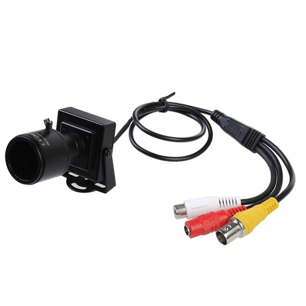 2.8 12mm HD 600TVL Sicherheit Audio Video Farbe CCTV Kamera Sicherheitssystem & Überwachung