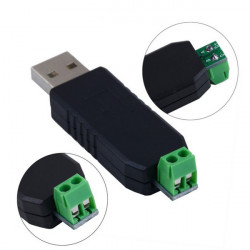 2 Stück Anti Jamming USB 2.0 zu RS485 Seriell Konverter Adapter