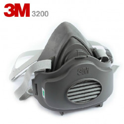 3M 3200 N95 PM2.5 Gas Protection Filter Respirator Dust Mask