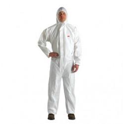 3M 4510 Große weiße verbunden mit Kapuze Schutzkleidung
