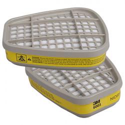3M 6003CN Filter Bomuld Cover til 3M 6200 6800 7502 Dobbelt Gas Mask