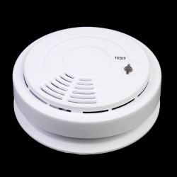 433MHZ Home Security System Wireless Smoke Detector Fire Alarm