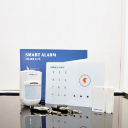 433Mhz GSM Wireless Intelligent Alarm Smart Touch Security System