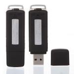 4GB USB Penna Disk Blixt Drive Digital Audio Diktafon Säkerhetssystem & Övervakning