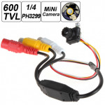 600 TVL CMOS 1/4 High Clear Surveillance Lens CCTV Camera Security System & Protection