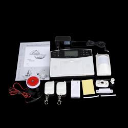 AL-30A 433MHz Trådlös Hem GSM SMS Telefon Säkerhet Larmsystem