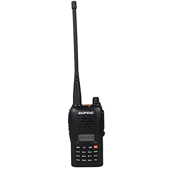 BAOFENG BF-V85 Dual Band Håndholdt Transceiver Radio Walkie Talkie Sikkerhedssystem & Overvågning