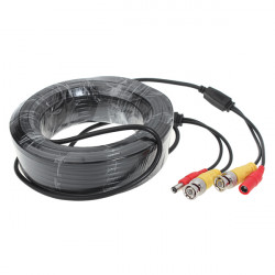 BNC Stromverlängerungskabel Kabel für Überwachungskamera System