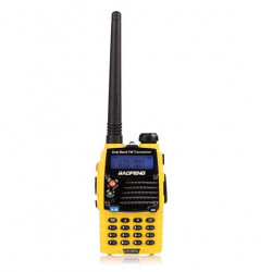 Baofeng UV 5RA Gelb Dual Band Transceiver Funk Wakie Talkie