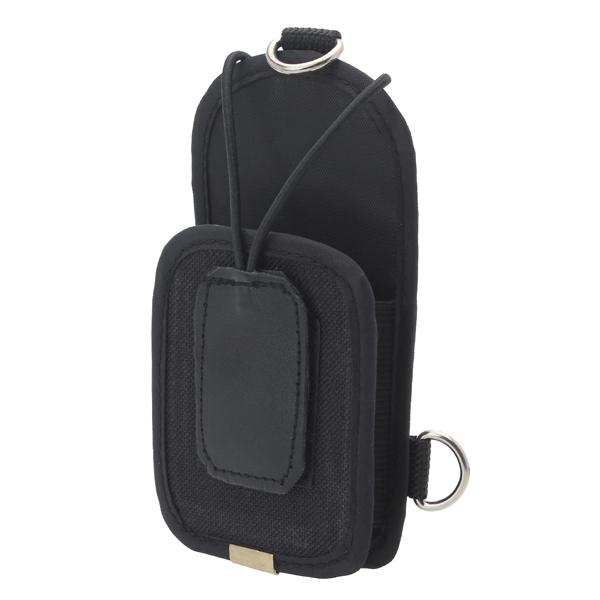 Canvas Walkie Talkies Tragetasche Abdeckung Kasten mit Bügel Sicherheitssystem & Überwachung