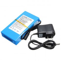 DC 12V 8000mAh Super Genopladeligt Portable Lithium - Ion Batteri