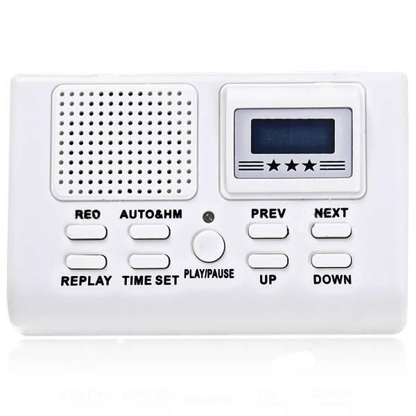 Digital Telefon Call Recorder Telefon Inspelning Rec System Säkerhetssystem & Övervakning