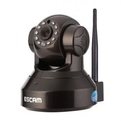 ESCAM Svart Pearl QF100 Wifi IP CMOS ONVIF Dome H720P Kamera
