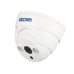 ESCAM ET QD530 HD720P P2P Cloud IR IP Dome Säkerhet Kamera