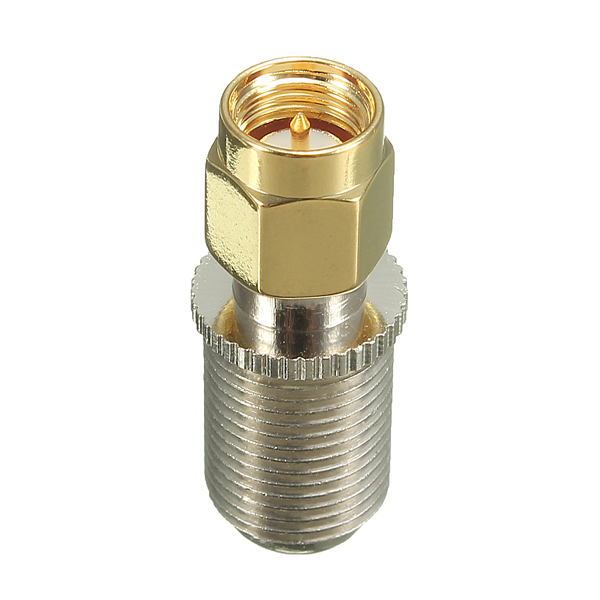 F Female Jack to SMA Male Plug RF Coaxial Adapter Connector Security System & Protection