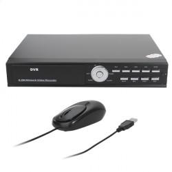 H.264 4CH Digital Video Recorder Security CCTV Camera DVR System