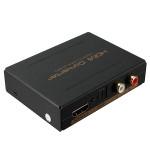 HDMI til HDMI & Optisk SPDIF + RCA L / R Audio Extractor Konverter Sikkerhedssystem & Overvågning