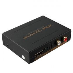 HDMI auf HDMI & Optical SPDIF + Cinch L / R Audio Extractor Converter