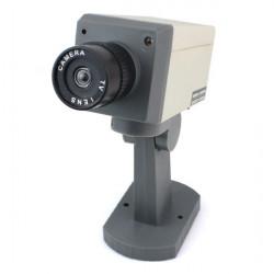 Start Dummy IR Simulation gefälschte Kamera blinkendes rotes LED Licht & Turn Around
