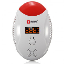 LCD Wifi CO Carbon Detektor Kohlenmonoxid Gas Sensor Voice Strobe Tester Sicherheit Alarm