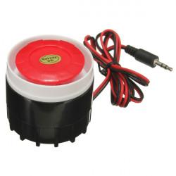 Mini Wired Sirene für Drahtlos Home Alarm Sicherheitssystem SZC 2574