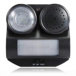 PIR Bewegungsmelder aktiviert Sensor Ton Taschenlampe Tier Fledermäuse Vogelvertreiber