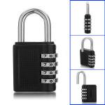 Lösenordsskydd 4 Siffror Numrerar Kombination Säkerhetskod Hänglås Säkerhetssystem & Övervakning