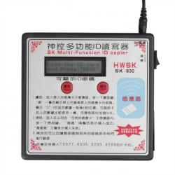 SK-630 125kHz Flerfunktions RFID-kort Kopiator Dupliceringsapparaten Key Programmerare