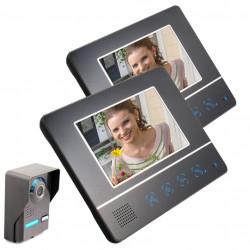 SY811FA12 7 Zoll TFT Bildschirm Farb Video Gegensprechanlage Türklingel Türsprechanlage