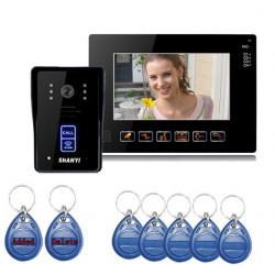 SY901MJID11 9inch IR Camera Touch Key Video DoorPhone Doorbell System