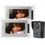 """SYSD 7"""" Video Porttelefon Dörrklocka Intercom Kit SY814FA12 Säkerhetssystem & Övervakning"""