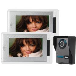 "SYSD 7"" Video Porttelefon Dörrklocka Intercom Kit SY814FA12"