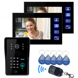 SYSD LCD Video Door Phone With IR Camera & Code Keypad SY806MJIDS12