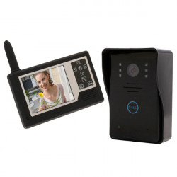 SYSD Wireless 3.5inch TFT LCD Color Video Door Phone SY359MJ11
